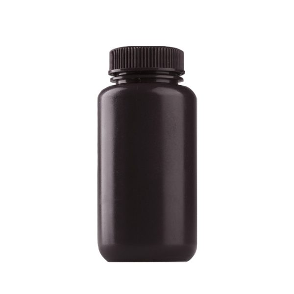Brown wide mouth reagent bottle