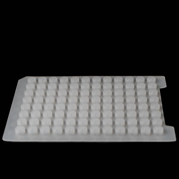 96 Round Well silicone sealing mat for a 2.0ml round plate